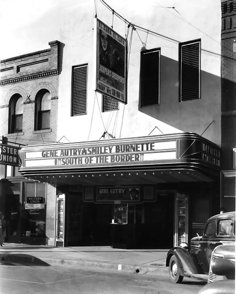 El Caro Theater S Bickford 1939. Paramount Pictures utilized blueprint for Inca Theater Okmulgee. posted Ken Parker Facebook